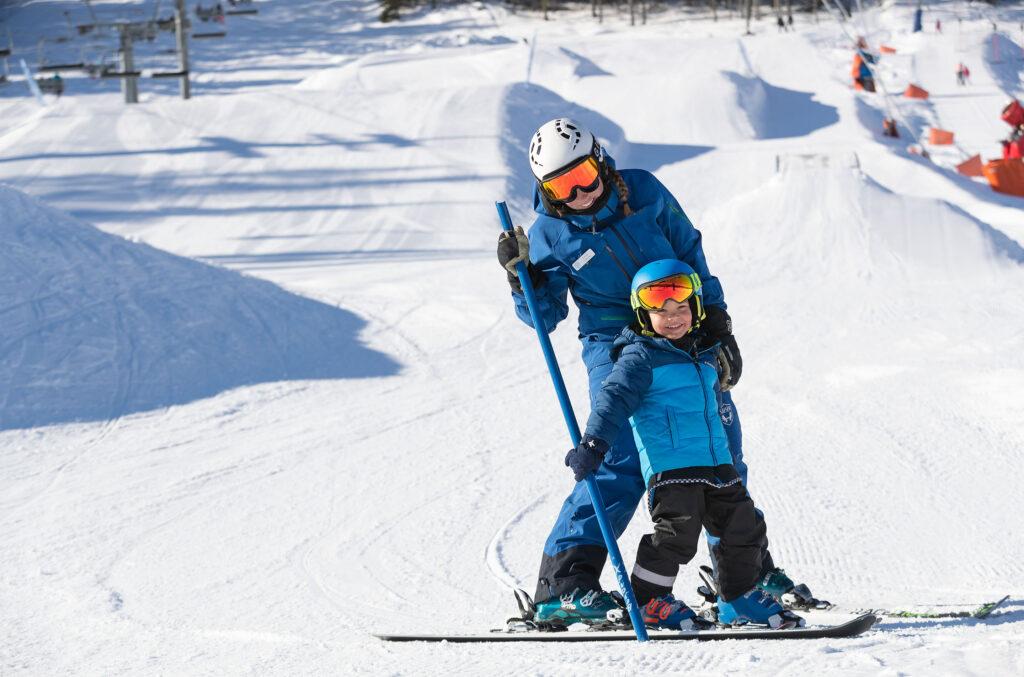lär dig åka slalom